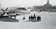 История международного аэропорта Манас