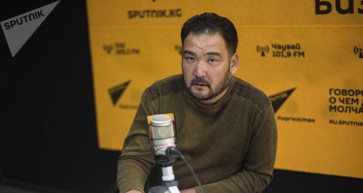 Заслуженный актер Кыргызстана Марат Козукеев