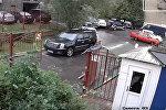 Четыре ДТП за 20 секунд устроил пенсионер в России — видео