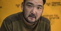 Архивное фото заслуженного актера Кыргызстана, режиссера Марата Козукеева