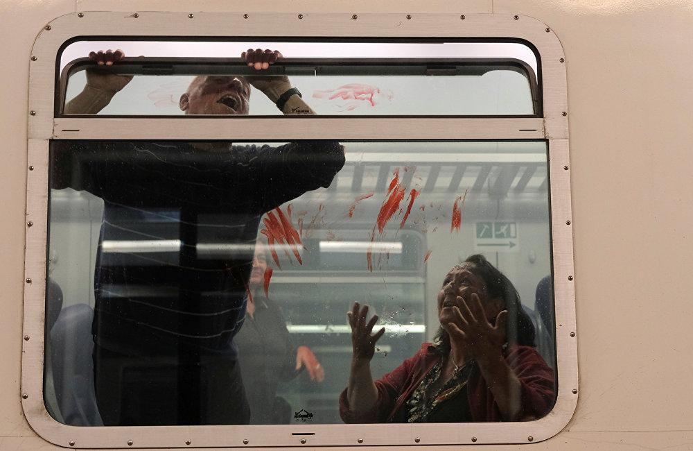 Антитеррористические учения в Италии