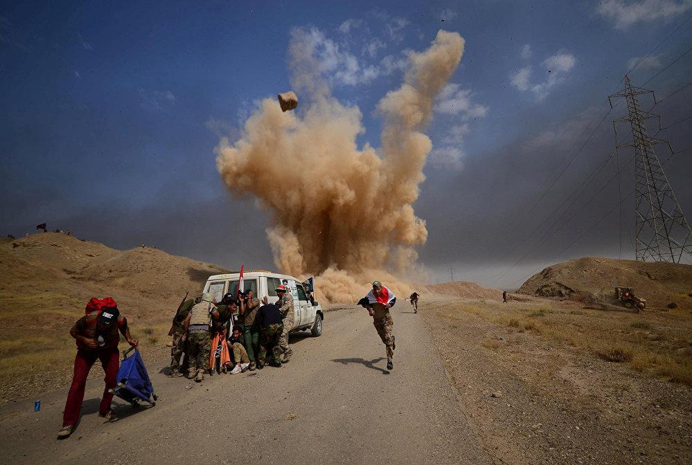 Взрыв неподалеку от города Хавия, Ирак