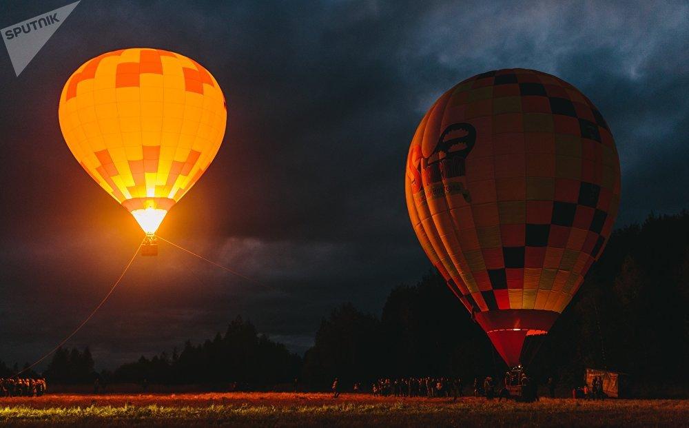 Фестиваль воздушных шаров SkyFlyFest 2017 в Ивановской области