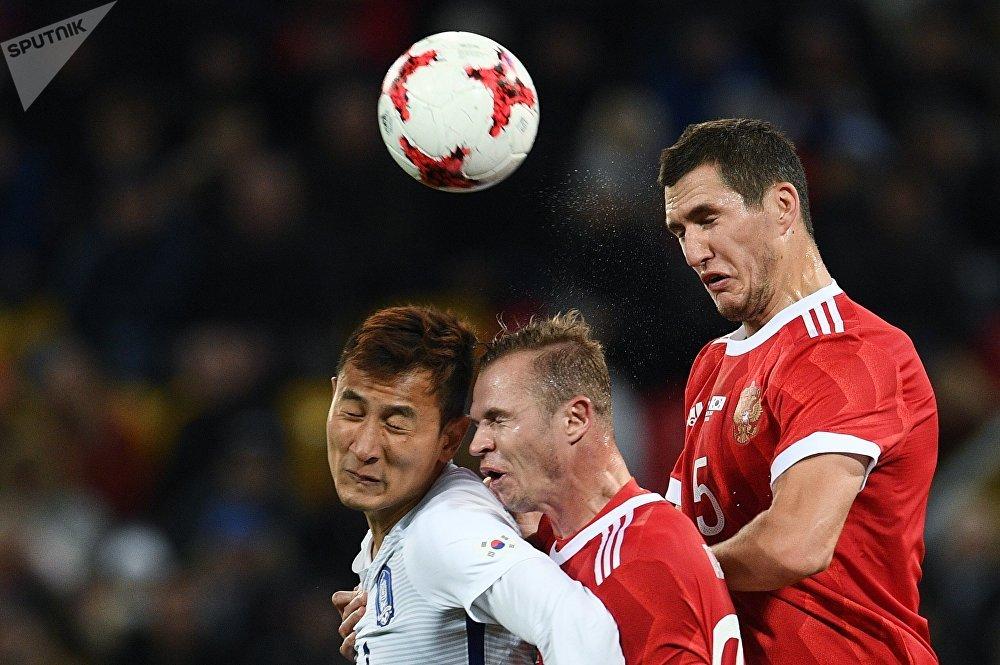 Футбол. Товарищеский матч. Россия - Южная Корея
