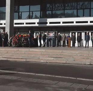 Uражданская панихида по Темиру Джумакадырову