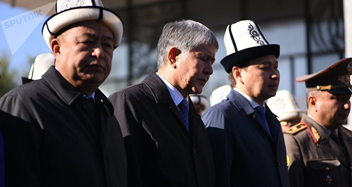 Президент Алмазбек Атамбаев