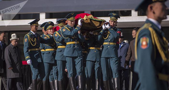 Панихида и похороны Темира Джумакадырова