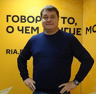 Руководитель спортивной редакции Царьград ТВ Андрей Малосолов. Архивное фото
