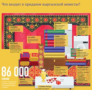 Что входит в приданое кыргызской невесты?