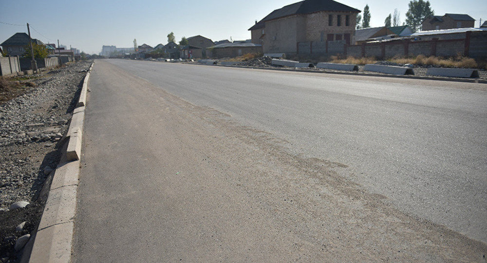 Новая магистральная дорога а Бишкеке
