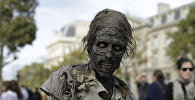 Зомби парады. Архивдик сүрөт