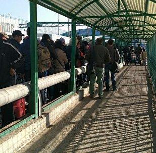 Ситуация на кыргызско-казахской границе