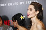 Голливудская актриса Анджелина Джоли. Архивное фото
