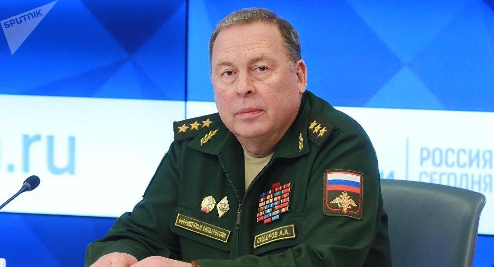 Начальник Объединенного штаба Организации договора о коллективной безопасности, генерал-полковник Анатолий Сидоров. Архивное фото