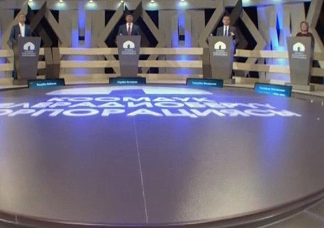 Бабанов, Масадыков, Уметалиева, Абдылдаев, Кочкоров — теледебаты кандидатов