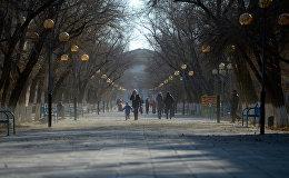 Казакстандын шаары. Архивдик сүрөт