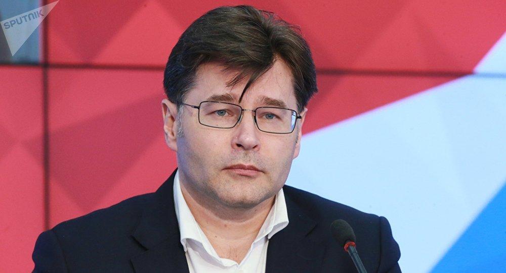 Архивное фото гендиректора Центра политической информации Алексея Мухина