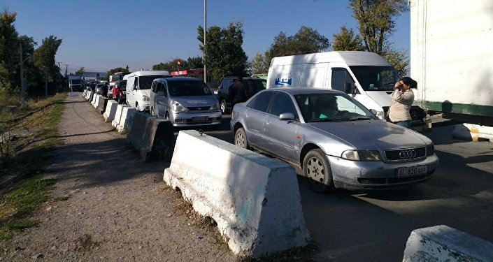 Ситуация на КПП Ак-Жол - Автодорожный. 12 октябрь