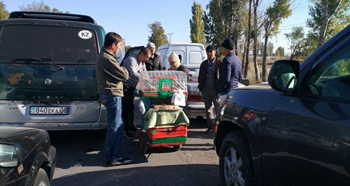 Ситуация на КПП Ак-Жол - Автодорожный. 12 октября