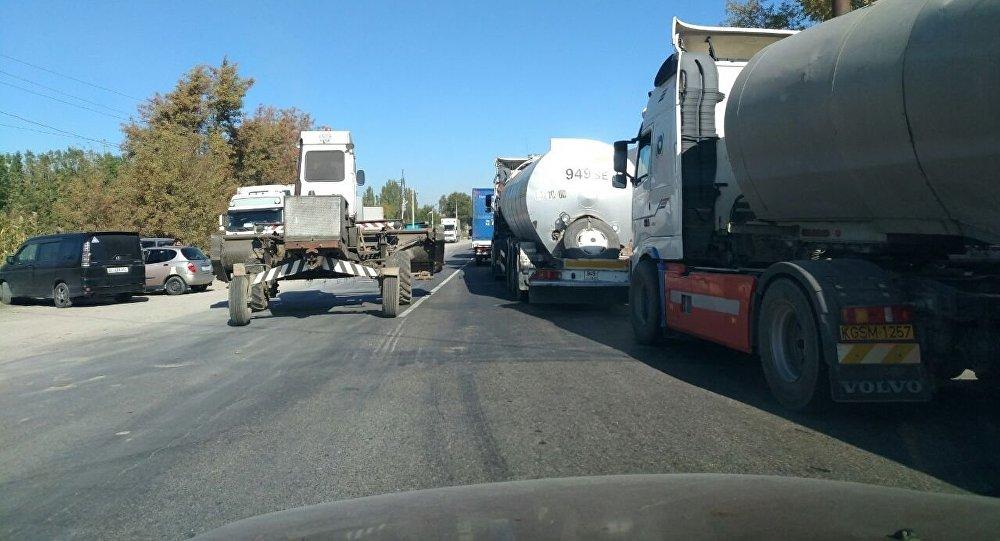 Ситуация на КПП Актилек - Автодорожный. 12 октябрь