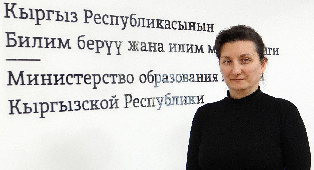 Главный специалист Управления профессионального образования Министерства образования и науки Евгения Чубукова