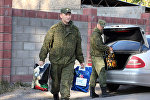 Военнослужащие авиабазы ОДКБ Кант посетили детский дом Малыш