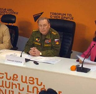 Учения ОДКБ Взаимодействие-2017 обсудили в МПЦ Sputnik Кыргызстан