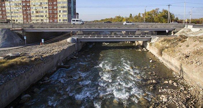 Три новых бишкекских моста — как они выглядят с высоты птичьего полета