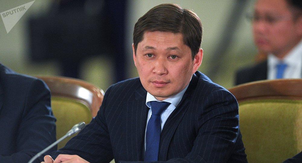 Премьер-министр Кыргызстана Сапар Исаков на заседании Высшего Евразийского экономического совета (ВЕЭС) на уровне глав государств в расширенном составе.