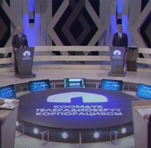 Жээнбеков, Сариев, Мадумаров, Бекназаров, Зарлыков, Малиев — теледебаты