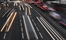 Движение транспорта. Архивное фото
