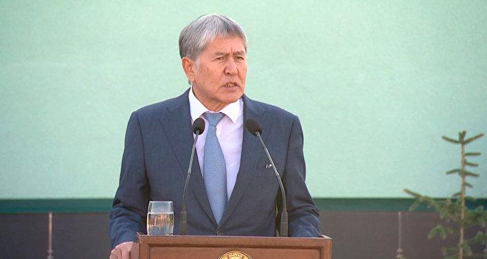 Что сказал Атамбаев про Казахстан, границу и выборы — видео