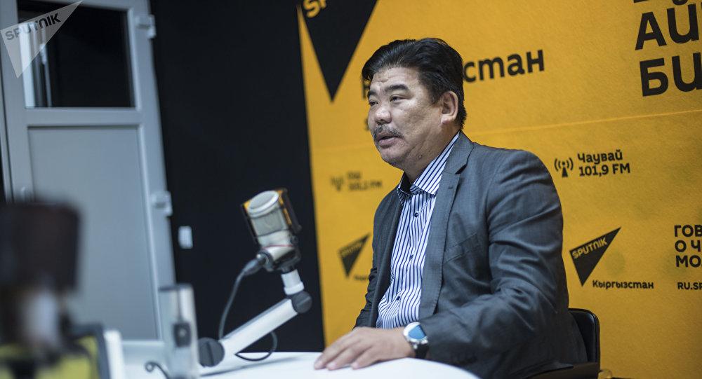 Мурдагы маданият, маалымат жана туризм министри Алтынбек Максутов