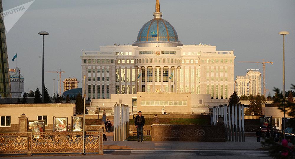 Дворец Президента Ак орда в Астане. Архивное фото
