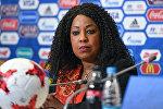 Архивное фото генерального секретаря ФИФА Фатмы Самуры