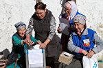 Досрочное голосование на президентских выборах в селе Арашан