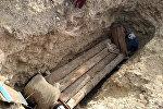 Захоронение мумии в Баткенской области