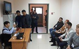 Избирательный участок в городе Екатеринбург. Россия