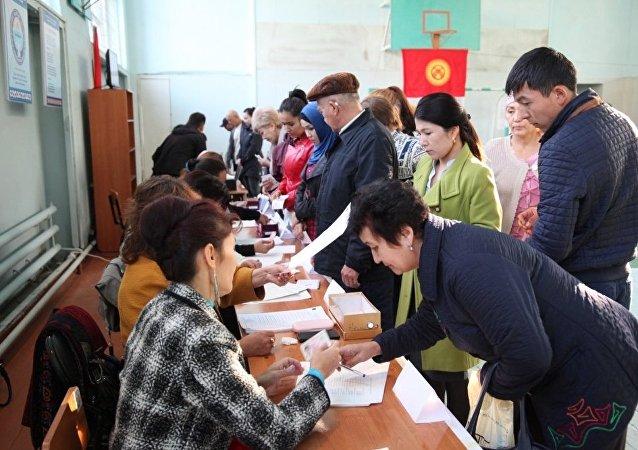 В Оше голосование проходит на 73 избирательных участках