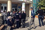 Ход выборов президента Кыргызстана в избирательном участке в Оше. Архивное фото