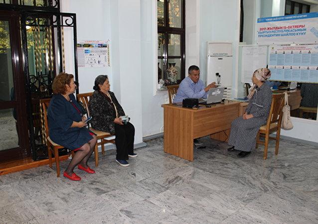 Ход выборов президента Кыргызстана в Узбекистане