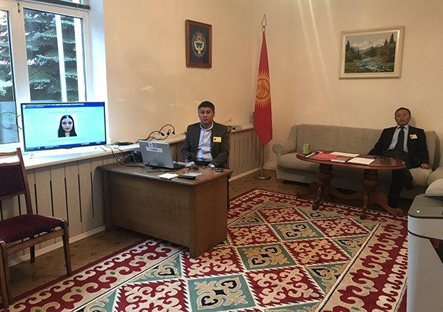 Ход выборов президента Кыргызстана в Беларуси
