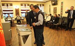 Ход выборов президента Кыргызстана в России