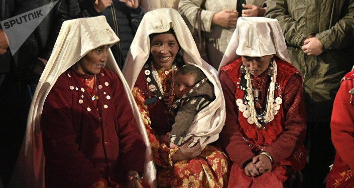 Памир кыргыздары. Архивдик сүрөт
