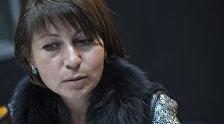 Исполнительный директор общественного объединения Семья и общество Лилия Пантелеева во время интервью на радиостудии Sputnik Кыргызстан