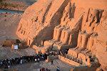 Египеттеги Абу-Симбел храмы. Архив