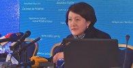 LIVE: Брифинг главы ЦИК о завершении голосования на выборах президента