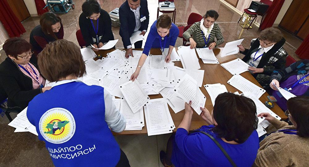 Итоги президентских выборов в Кыргызстане