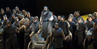Репетиция оперы Александра Бородина Князь Игорь. Архивное фото