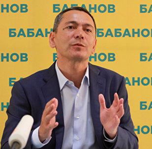 Мурдагы депутат Өмүрбек Бабановдун архивдик сүрөтү